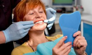 female dental patient